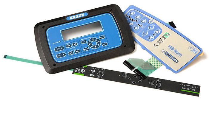 Swetouch levererar kundanpassade lösningar för touchscreen och touchpaneler där tangentbord som tex membrantangentbord ofta är en del av produkten.