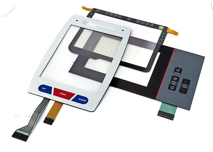 Touchscreen och touchpaneler går att få med olika teknik och med olika design samt för olika typer av montering.