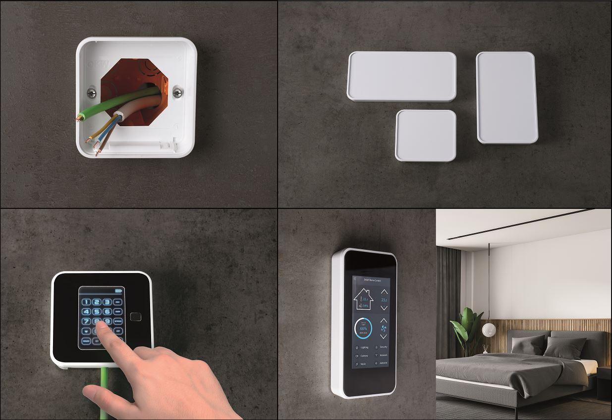 Smart-Panel - Snygg kapsling för väggmontage